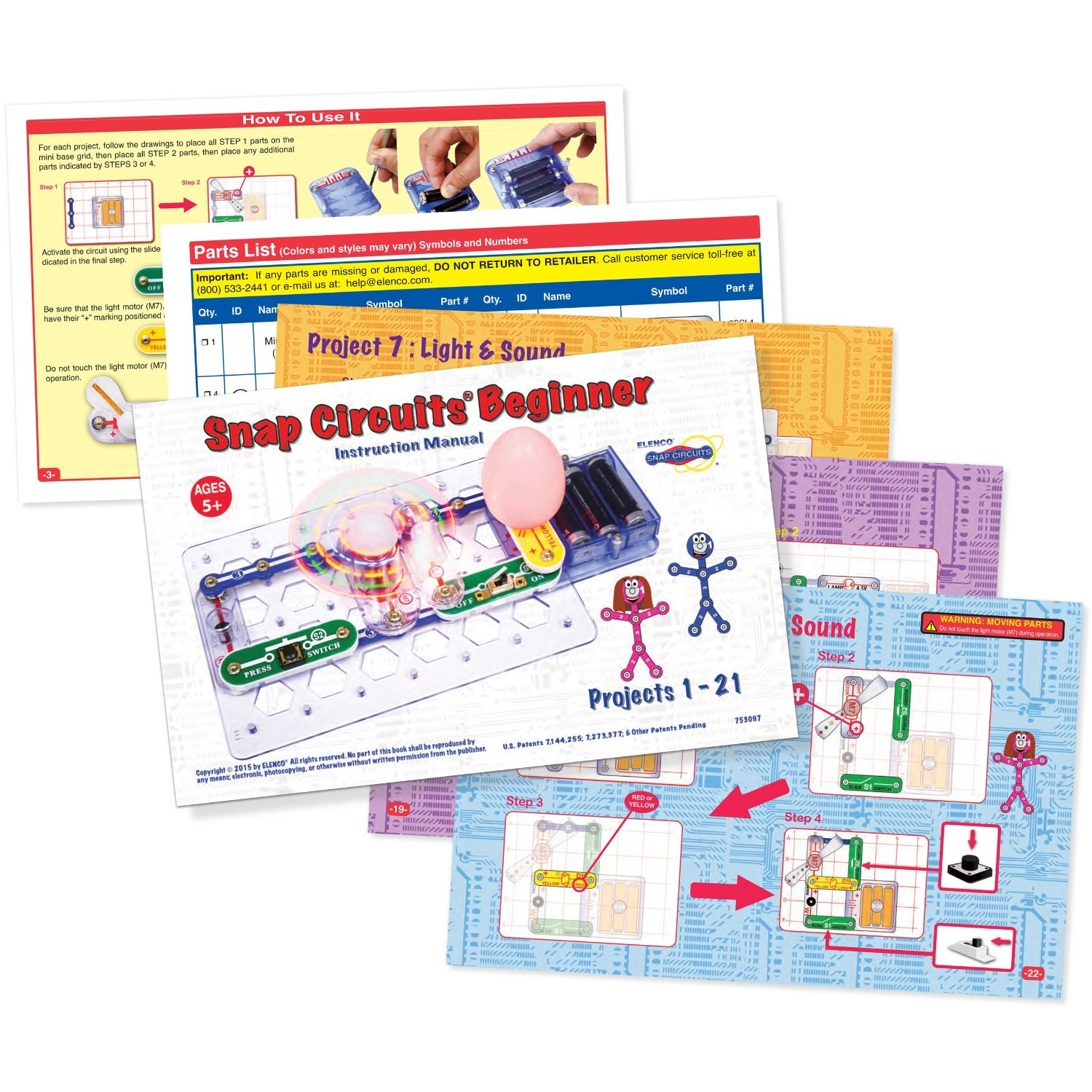Technology Electronics Steam Collection Cis Sls Web Pages At Snap Circuits Sound And Light Combo Additional Photo Inside Page Circuit Kits