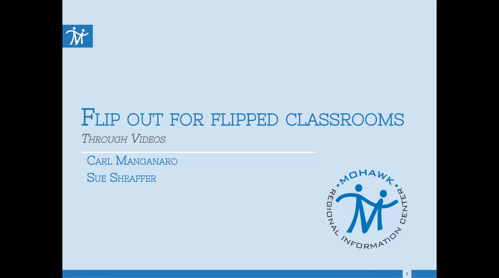 Flip Out for Flipped Classroom Through Video