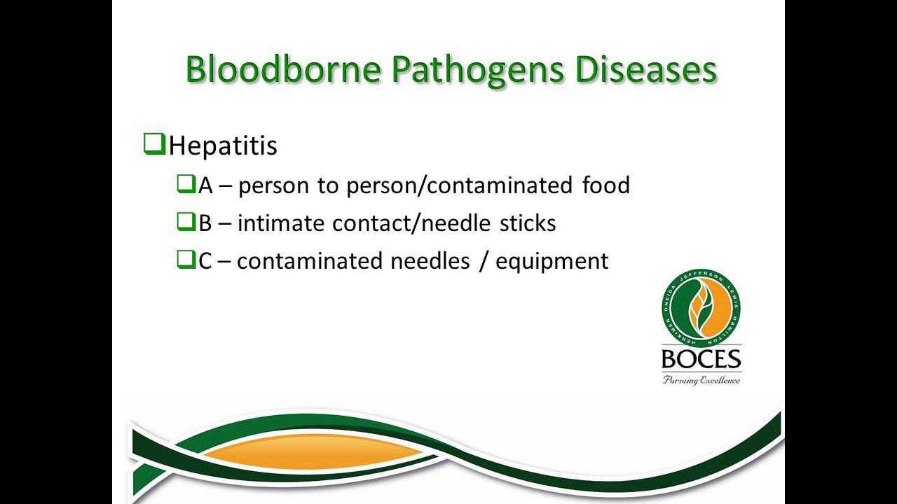 Bloodborn Pathogen Training